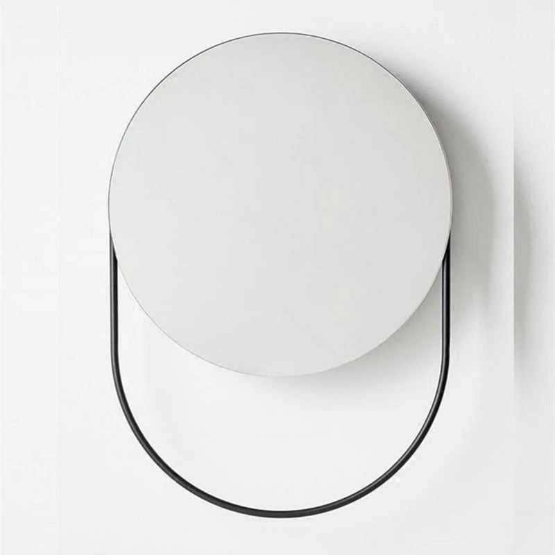 Functional wall mounted mirror