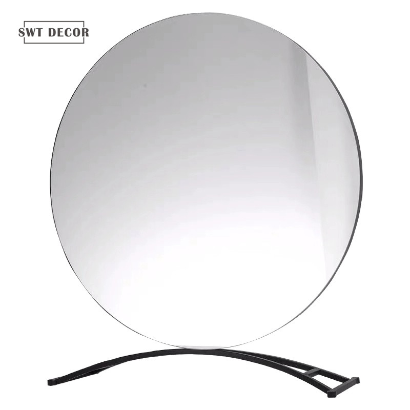 Small minimalism table mirror