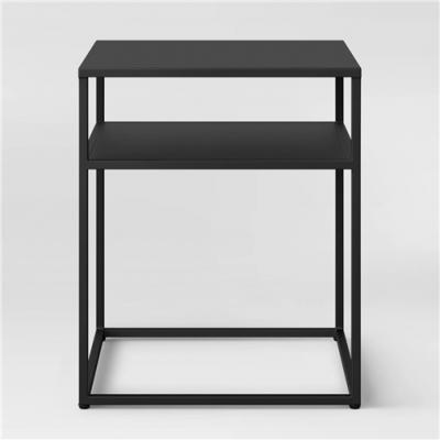 Metal iron side table