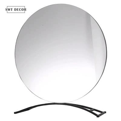 Round Frameless Ins Style Table Decor Mirror